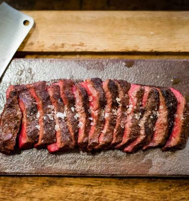Dry-aged Flat Iron Steak